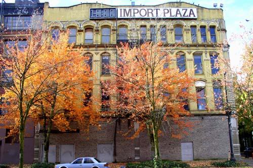 Bickel Block Building Exterior