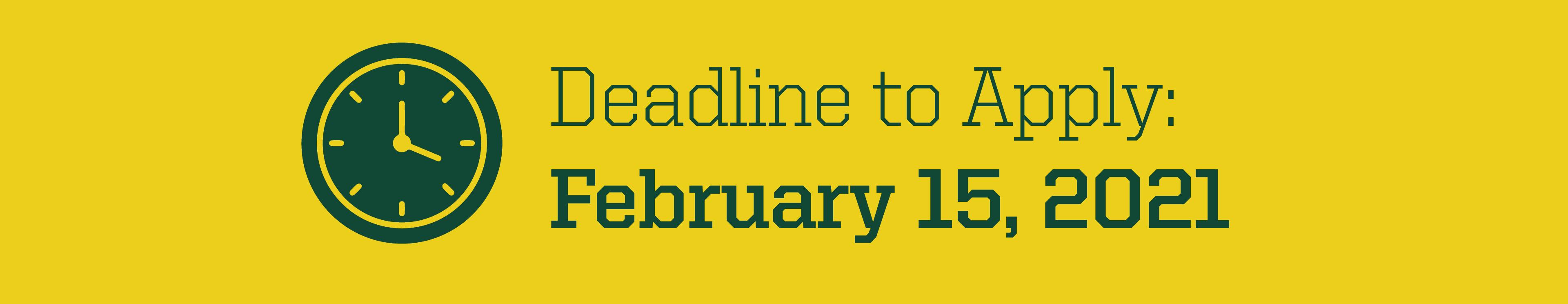 Apply Feb. 15 graphic