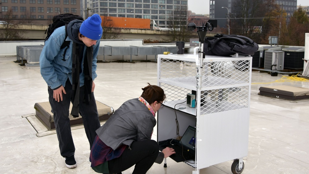Collecting rooftop data