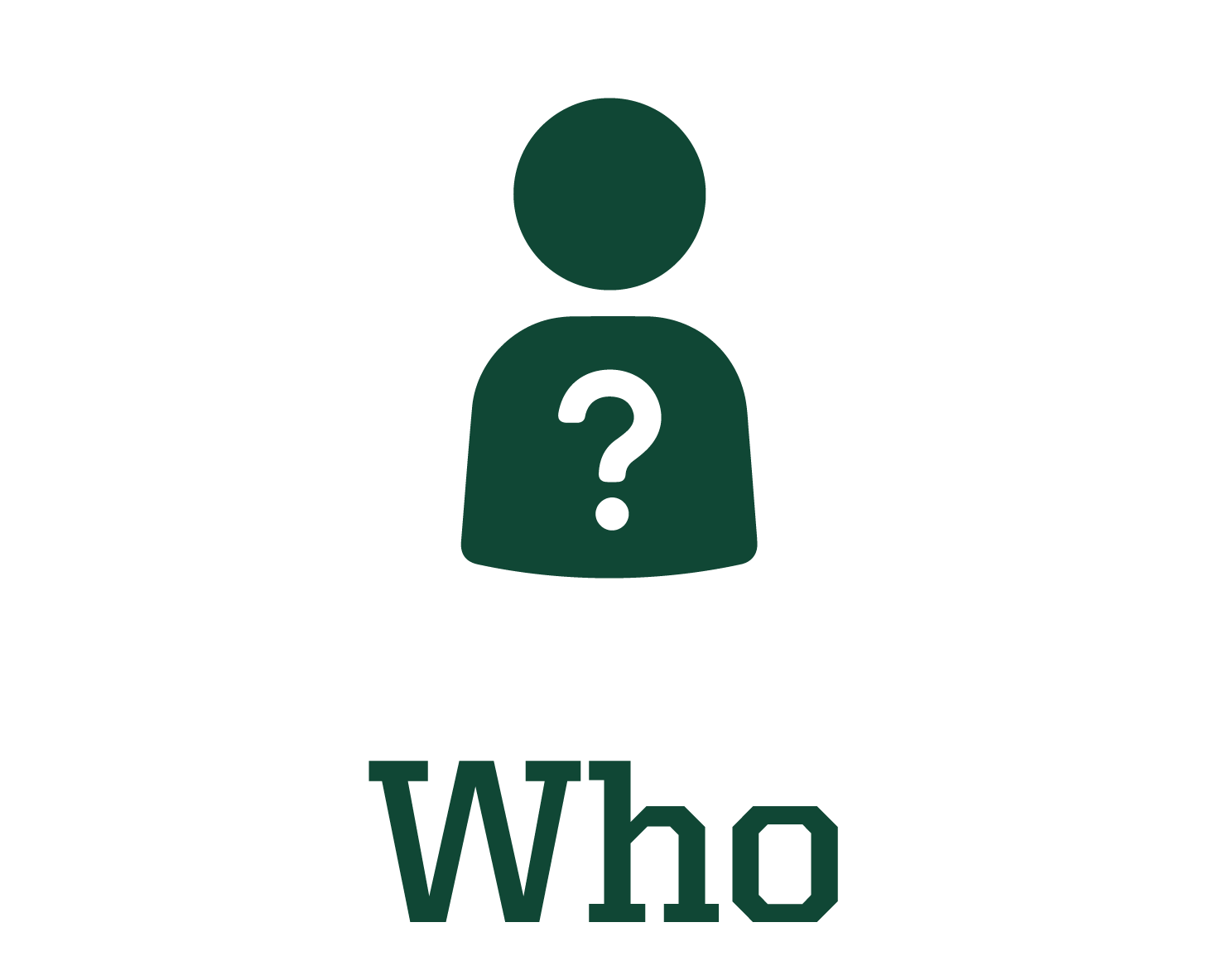 Who? graphic